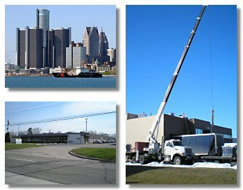 Downtown Detroit, Madison Heights and RPM Crane
